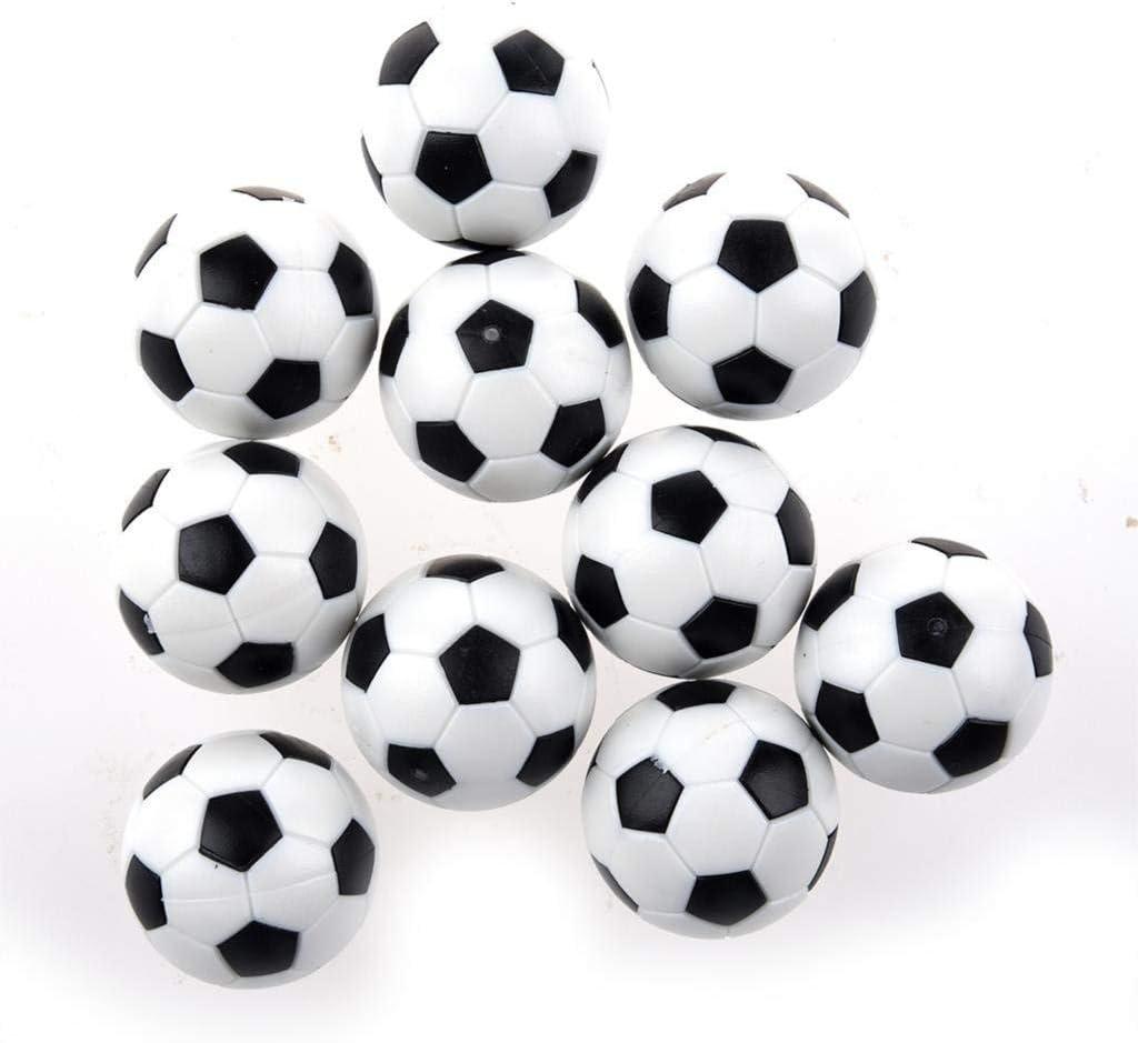 AeeKing - Juego de 6 balones de fútbol de Mesa (plástico de ...