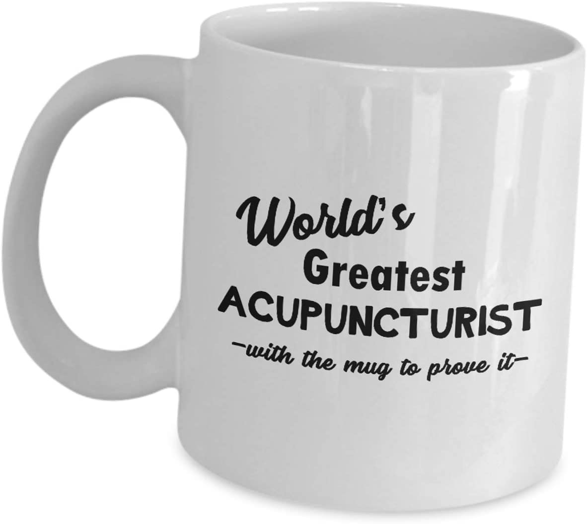 Worlds Greatest Acupuncturist Novelty Gift Mug
