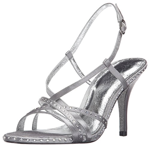 Pewter Adrianna Acacia Women Papell Dress Sandal HqBP8qz