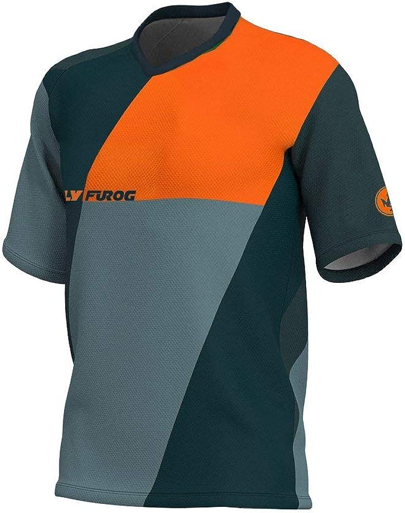 Uglyfrog ESHSJF09 Newest Summer Sports Wear Manga Corta MTB Downhill Jersey/Ropa De Moto De Descenso Bicicleta De Primavera&otoño Montañal Maillots Deportes y Aire Libre