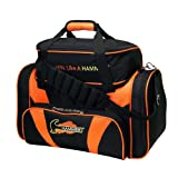 Hammer 2 Ball Deluxe Tote Bowling Bag Black/Orange