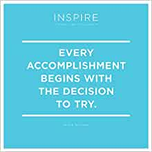 2019 Inspire Daily Quotes Desk Calendar: TF Publishing