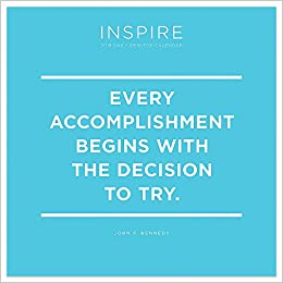 Image of: 2018 2019 Inspire Daily Quotes Desk Calendar Tf Publishing 9781683756583 Amazoncom Books Quotes 2019 Inspire Daily Quotes Desk Calendar Tf Publishing