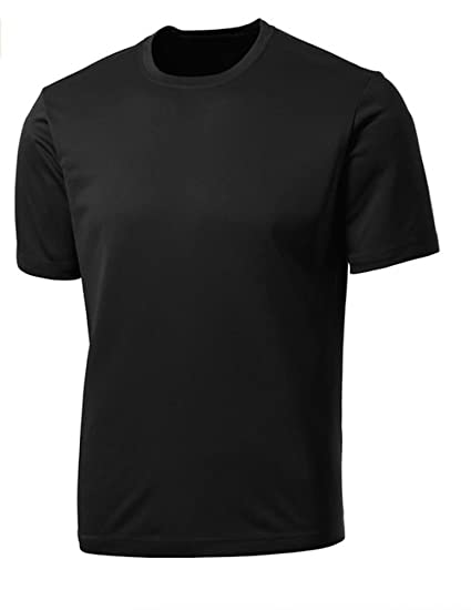 195585bfd Amazon.com: Dri-Fit Mens Short Sleeve Performance Athletic T-Shirt ...