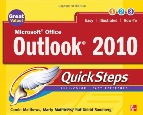 Microsoft Office Outlook 2010 QuickSteps, 2nd Edition