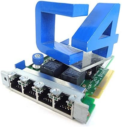 684217-B21/â/€/‹ 665238-001 669280-001 HP 665240-B21 ETHERNET 1GB 4-Port 366FLR Adapter 669280-B21