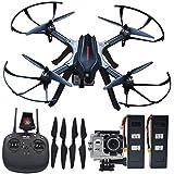 Blomiky B3H 4K Ultra HD 4K 2160P 1440P 1080P RC Quadcopter Drone 16.0MP Camera Motor Brushless Aircraft Bonus Battery B3H4K