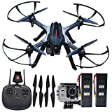 Blomiky B3H 4K Ultra HD 4K 2160P 1440P 1080P RC Quadcopter Drone 16.0MP Camera Motor Brushless Aircraft Bonus Battery B3H4K