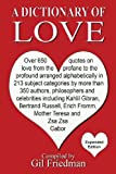 A Dictionary of Love, Gil Friedman, 091303830X