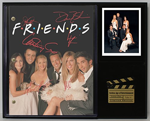"FRIENDS LTD EDITION REPRODUCTION SIGNED TELEVISION SCRIPT DISPLAY ""C3"""
