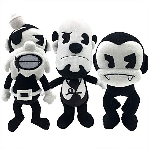 Bendy and the Ink Machine : The Butcher Gang - Plush Bundle