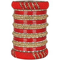 MUCH MORE Designer One Hand Bracelet Traditional Indian Bangles for Women's