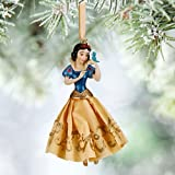Disney Store 2015 Princess Snow White with Bluebird Sketchbook Christmas Ornament