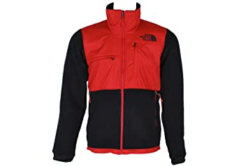 ac0c060ae64e ... 50% off the north face denali 2 jacket mens recycled tnf black red croc  embossed