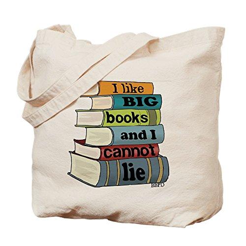 Me gusta CafePress libros grandes bolso - estándar Multi-color
