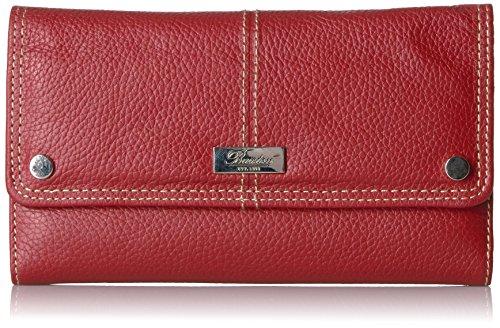Buxton Women's Westcott Checkbook Wallet, red, One Size