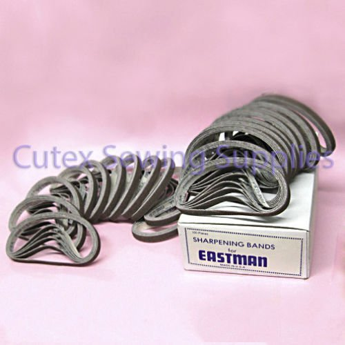 Sharpening Bands For Eastman Cutting Machines #181C2-2 Medium Grit - 100 Pack