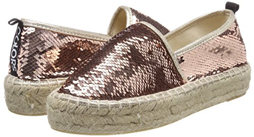Sole Double Rosa California Espadrille Espadrillas Colours Of pink Donna In Sequins AqE7aWtWcO
