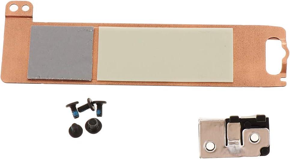 H HILABEE For Dell Latitude 5580 5490 Precision 3520 M.2 SSD Caddy 2FFR0+Bracket X3DN4