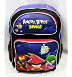 """16"""" Angry Birds Space Large Backpack-tote-bag-school"""