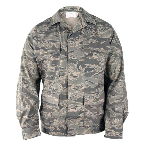 Propper Men's Abu Coat, Air Force Digital Tiger Stripe, Size 34/Regular