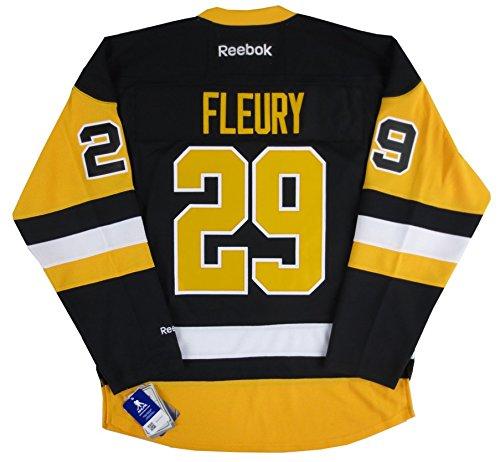 Marc-Andre Fleury Penguins Alternate 3rd Reebok Men's Premier Jersey - 3XL