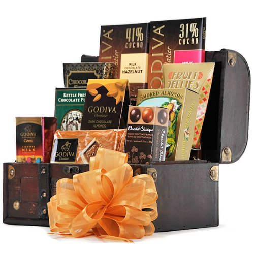 The Godiva and More Chest by Gift Basket