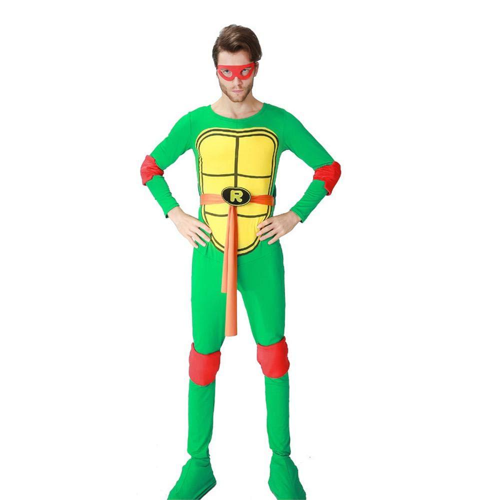 COSPLAYYL Traje Tortugas Ninja Halloween para Adultos ...