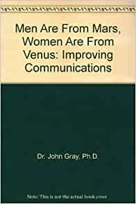 men from mars women are from venus john gray first print - photo #16