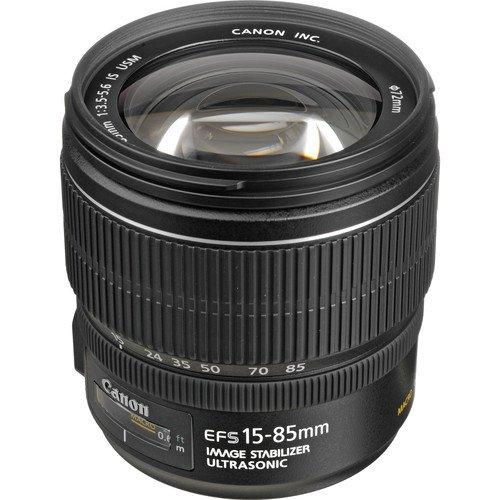 Canon EF - S 15 – 85 mm f / 3.5 – 5.6 is USMレンズ – ホワイトボックス   B00BB0ATMW