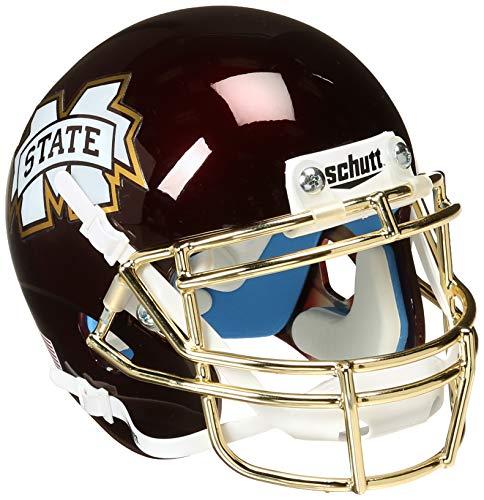 NCAA Mississippi State Bulldogs Egg Bowl Mini Helmet, One Size, White ()