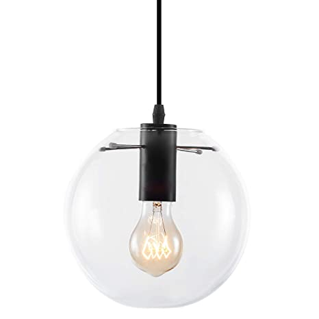 Yaqi Lighting Industrial Mini Globe Pendant Light With Hand Blown