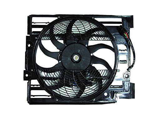 Replacement For Bmw 5 Series E39 528 540 I 97 98 A/C Ac Condenser Cooling Fan - 97 528 Bmw Engine
