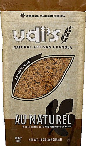 UDI's Natural Artisan Granola Au Naturel -- 13 oz - 2 pc