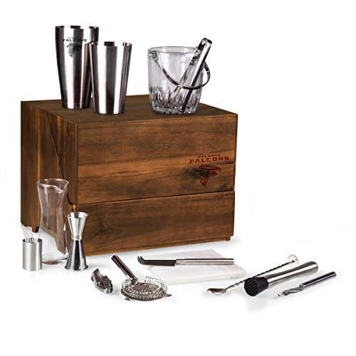 A Legacy Stainless Steel Shaker (NFL Atlanta Falcons Madison 19-Piece Tabletop Bar Set)