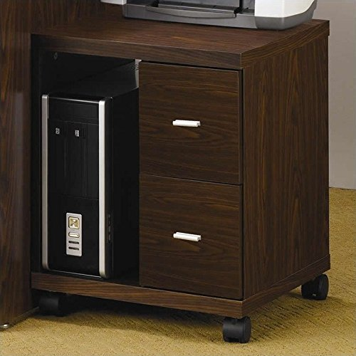 Coaster Home Furnishings 800832 Contemporary File Cabinet, (2 Drawer Printer Stand)