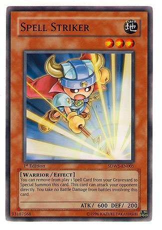 Spell Striker (YuGiOh Warrior's Strike Structure Deck Single Card Spell Striker SDWS-EN005 C...)