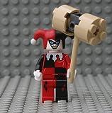 LEGO Batman Minfigure - Harley Quinn with Hammer (2008)