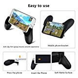 Mobile Phone Gaming Controller Accessory Bundle - L+R Triggers, Controller Grip, Joystick for PUBG / Fortnite / Knives Out / Rules of Survival - Works with Android and iOS
