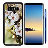 MSD Premium Samsung Galaxy Note8 Aluminum Backplate Bumper Snap Case IMAGE ID 19547254 Blooming Flowers Branch close up Recommended with Reviews