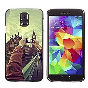 SHIMIN CAO- Dise?o Caso duro de la cubierta Shell protector FOR Samsung Galaxy S5 I9600 G9009 G9008V- Funny Kidding Pattern Art Cartoon Cute