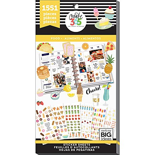 me & My Big Ideas PPSV-57-3048 Value Pack Stickers, Multicolor by Me & My Big Ideas