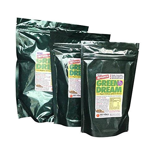 Green Dream Bonsai Fertilizer 100% Organic 8oz NPK 7 5 5 Multisourced Domestic Blend Fully Balanced Outdoor Use Animal-Safe Fast Dissolving Encourages Lush Growth