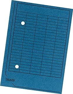 FALKEN H/ängetasche gelb A4 Leinenfrosch Karton 25 Taschen B/ürokleinmaterial 80002660