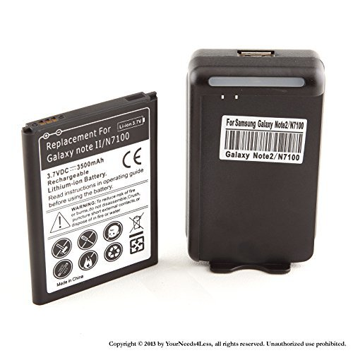 Wall Charger Dock for Samsung Galaxy Note 2 N7100 - 3