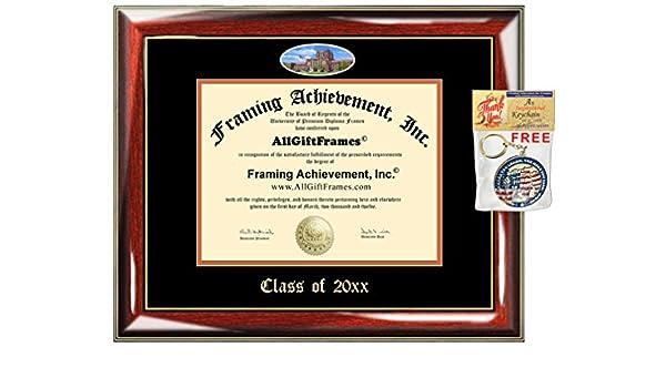 Amazon.com - AllGiftFrames Custom Diploma Frame Embossed University ...