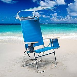 51Qz-jqsX-L._SS300_ Canopy Beach Chairs & Umbrella Beach Chairs