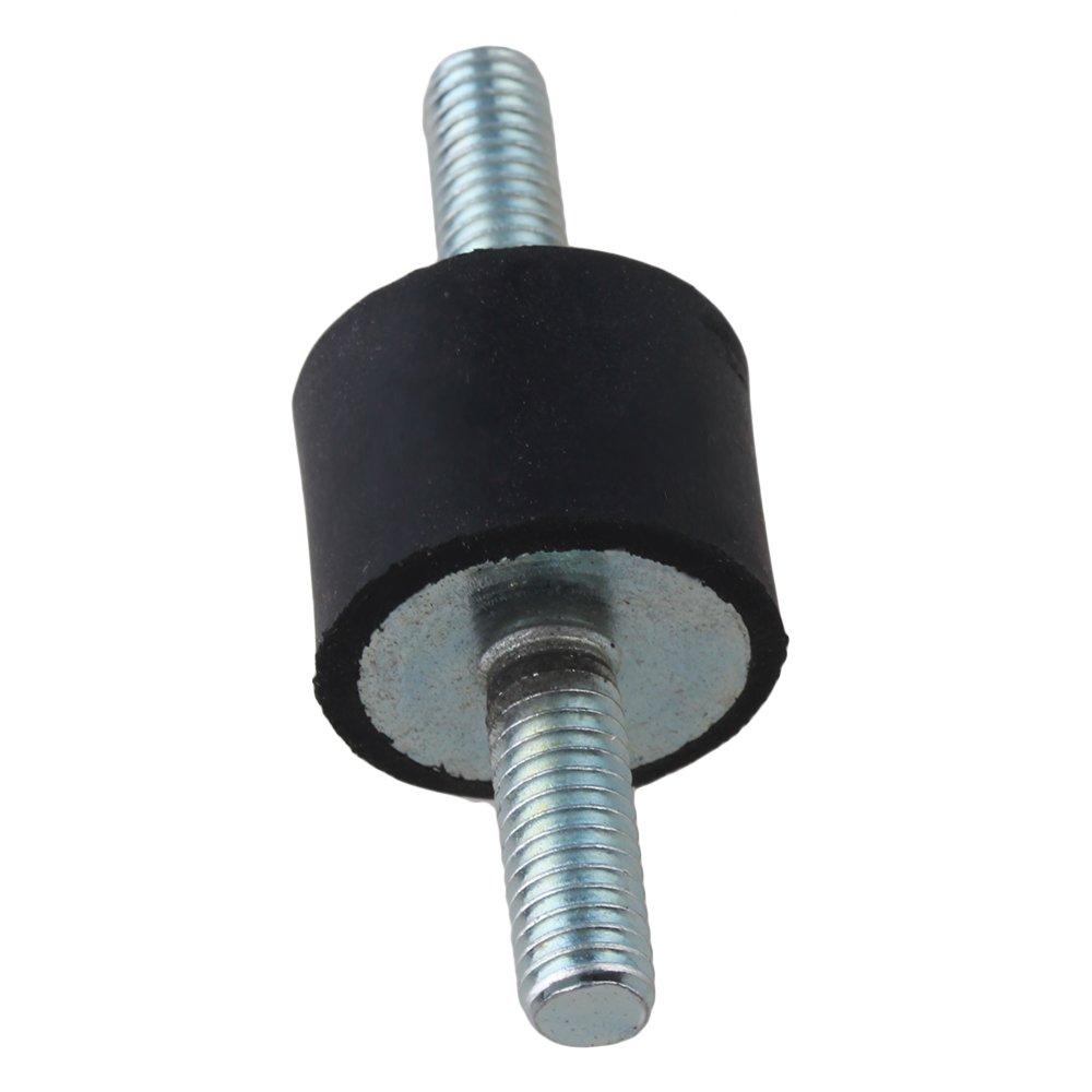 BQLZRN12474 6/mm supporto in gomma anti-vibrazione a doppia estremit/à a vite Silentblock per pompa confezione da 5