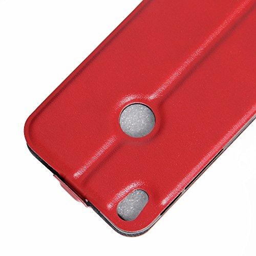 Manyip Funda Alcatel One Touch Shine Lite,Caja del teléfono del cuero,Protector de Pantalla de Slim Case Estilo Billetera con Ranuras para Tarjetas, Soporte Plegable, Cierre Magnético(JFC4-3) D