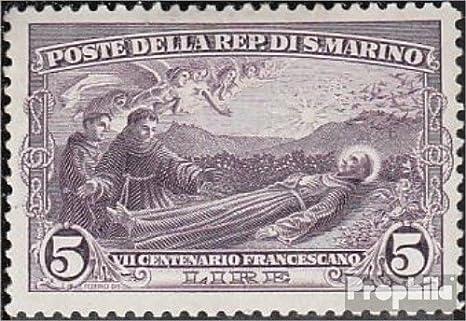 Prophila Collection San Marino 144 1928 Santo Francisco por Asís (Sellos para los coleccionistas) Cristianismo: Amazon.es: Juguetes y juegos
